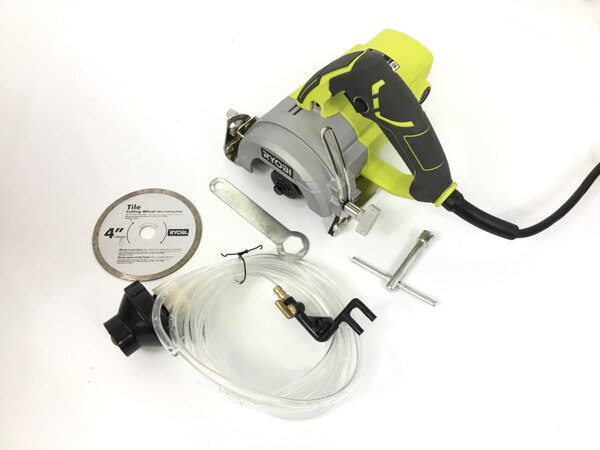 Ryobi 4 In  TC401 Water Cooled Wet Blade Tile Cutting Saw Tool