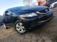1Owner 2013 Civic Certified $6,999  Brampton