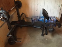 Weight bench , weights, bars etc Olla, 71465