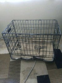 black metal folding dog crate Tucson, 85712