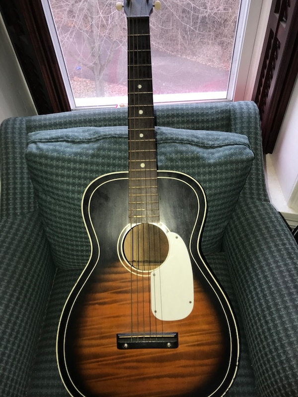 31de0add1c Used Vintage Silvertone Parlor Guitar for sale in Whitpain - letgo