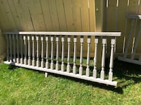 beutiful 20 feet of wood fencing and post great for and deck or front Toronto, M9R 1T4
