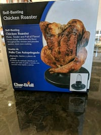 Char-Broil self-basting chicken roaster Oakville, L6J 2L8