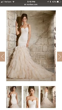 women's white wedding gown San Jose, 95135