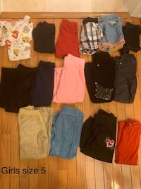Girls size 5 clothes $15 all