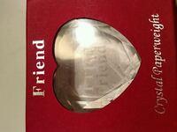 Friend crystal paperweight Pittsford, 14534