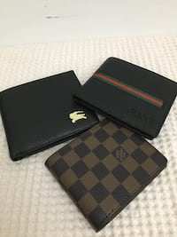Assorted men's wallet 50$ each for pick up only keele and lawrence  Toronto, M6L 2N2