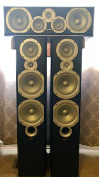 Infinity Primus Speakers (Towers & Center Channel) Round Lake Beach, 60073