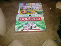 Monopoly board game with box Fargo, 58102