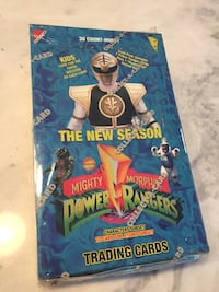 1994 Mighty Morphin Power Rangers Cards 36ct Box NEW Sealed Rare