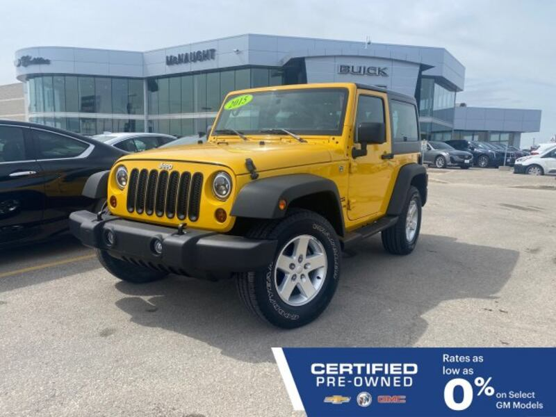 2015 Jeep Wrangler Sport 4WD | Aftermarket Headlights & Remote Start 3eac1e6c-a403-43bb-ba74-42bd44192189