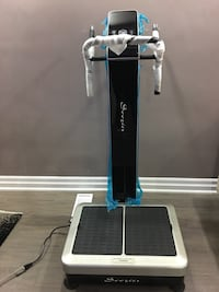 Vibration plate to loose weight and build muscle brand new no space moving out  Toronto, M6S 3Y3