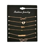Gold-tone Fashion Bracelets - Brand New! - $4.00ea