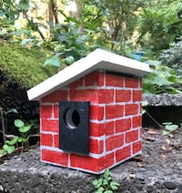 Brick birdhouse  North Vancouver, V7J 3K4