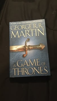 A game of thrones by George R.R. Martin book