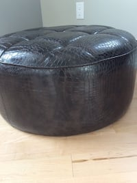 High quality leather Ottoman  Milton, L9T