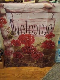 Welcome flag by MM Ginnis Hagerstown, 21740