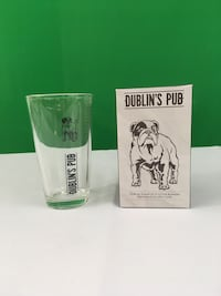 Beer Glass in the box. New. We have cases of them.