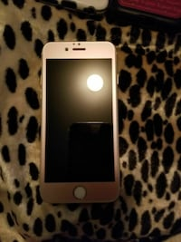 gold iPhone 6  64g unlocked with cases