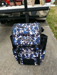 Nice rolling luggage cart suitcase League City, 77573