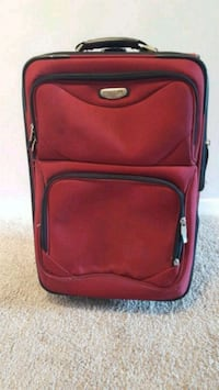 red and black softside luggage Arlington, 22201