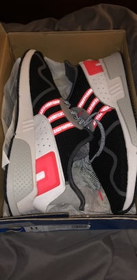 pair of black-and-white Adidas sneakers Shiremanstown, 17011