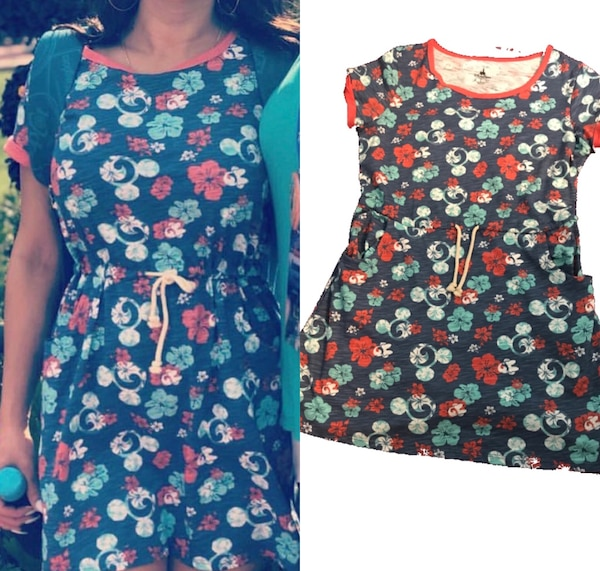 Mickey Mouse Dress + Rose Gold Mickey Mouse Ears 1