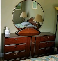 brown wooden dresser with mirror Germantown