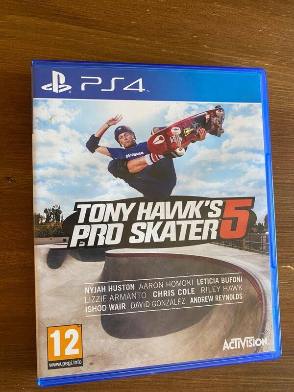 Tony hawk proskater 5 0