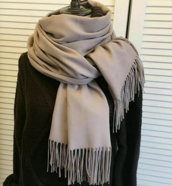 Lot of 3 Women's Wool Pashmina Cashmere Scarves  S bb590a36-91c1-46ba-94e0-bcbee9bdc381