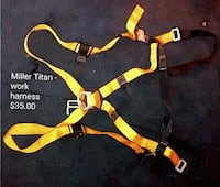 yellow Miller Titan-Work harness Memphis, 38108