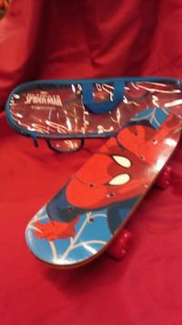 Mini skate spiderman madera medida 43/13 León, 24006