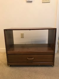 brown wooden 2-drawer chest Silver Spring, 20910
