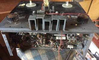 REEL TO REEL RECORDER REMAINS