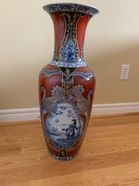Kaiser vase Siam collection  Vaughan, L4L 6W7