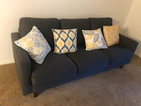 3 seats modern Sofa with pillows and table $320 Thousand Oaks, 91362