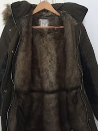Zara Furry Woman Coat Bremen, 28217