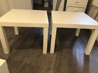 2 IKEA side tables selling for 20 bucks good condition Toronto, M6G 2C9