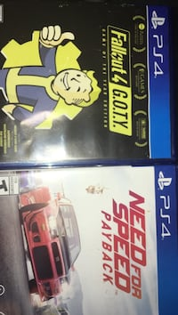 Fallout 4 and NFS Payback  McGregor, 76657