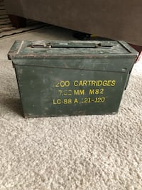 Vintage Military ammo metal box  Silver Spring, 20903
