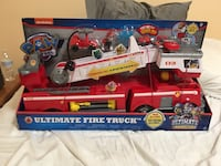 Paw Patrol Ultimate Rescue Fire Truck NEW Potomac, 20854