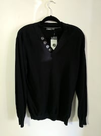 Mexx brand mens large dress sweater black New Westminster, V3M