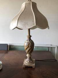 white and brown table lamp Lake Grove, 11755