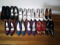 women's assorted pairs of shoes 46 km