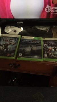 xbox 360 games Bakersfield, 93314