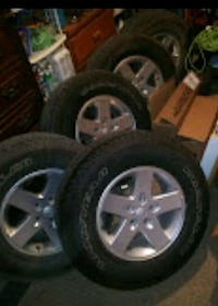 Rims and Tires Like New!!