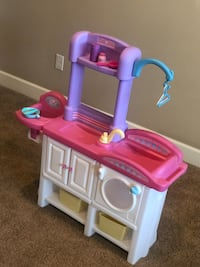 Baby doll changing station