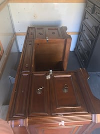 Executive all wood office desk