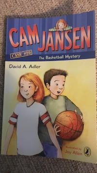 Book: Cam Jansen the basketball mystery