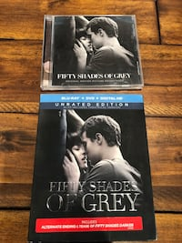 Fifty shades of gray blu ray and cd Portland, 97231